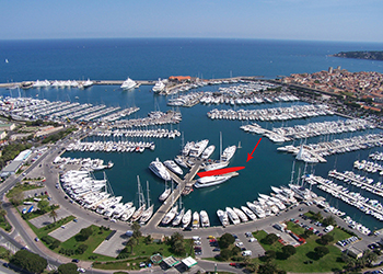 ANTIBES - 40M BERTH